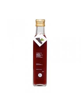 Vinaigre à la Pulpe de Cassis Noir de Bourgogne 250ml