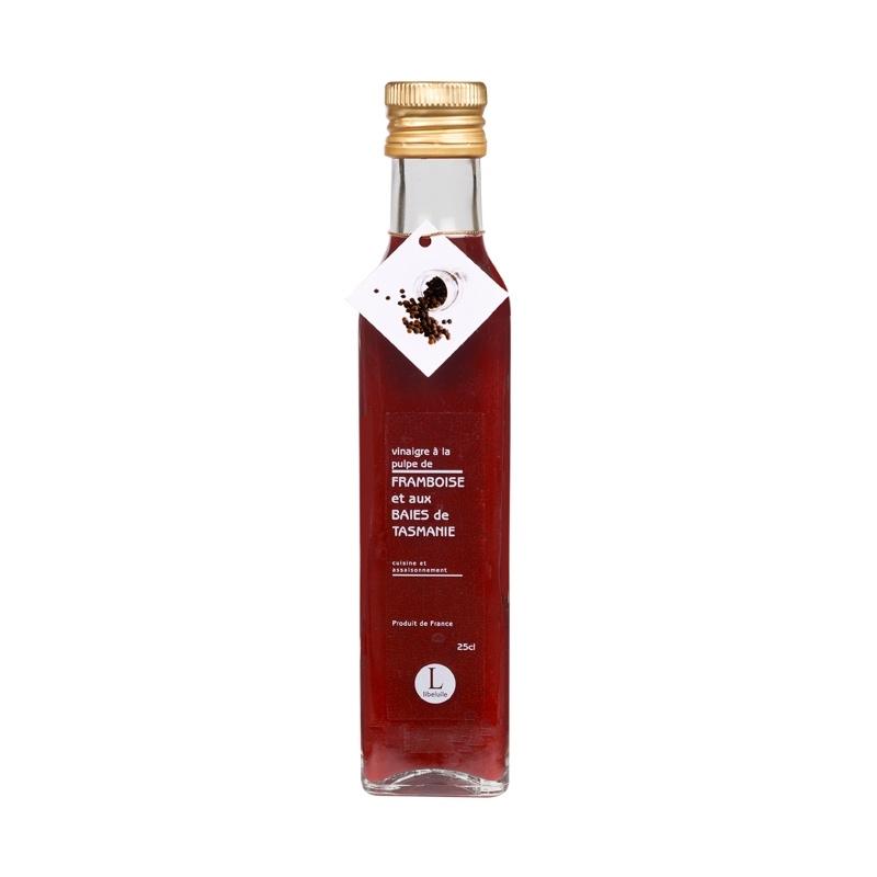 Vinaigre à la Pulpe de Framboise et baies de Tasmanie 250ml