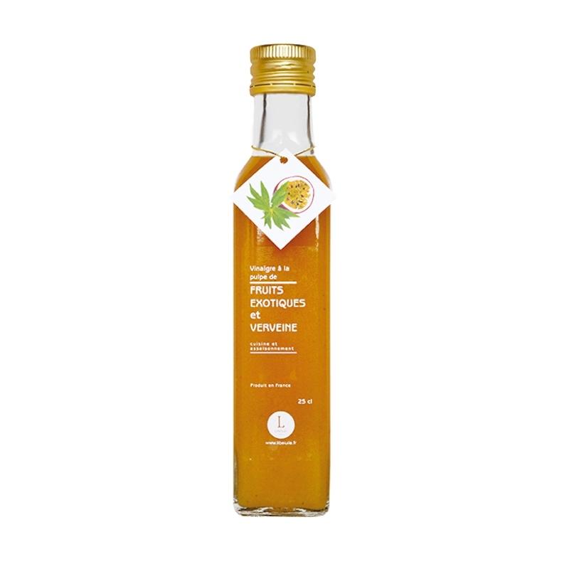 Vinaigre à la Pulpe de Fruits Exotiques et Verveine 250ml