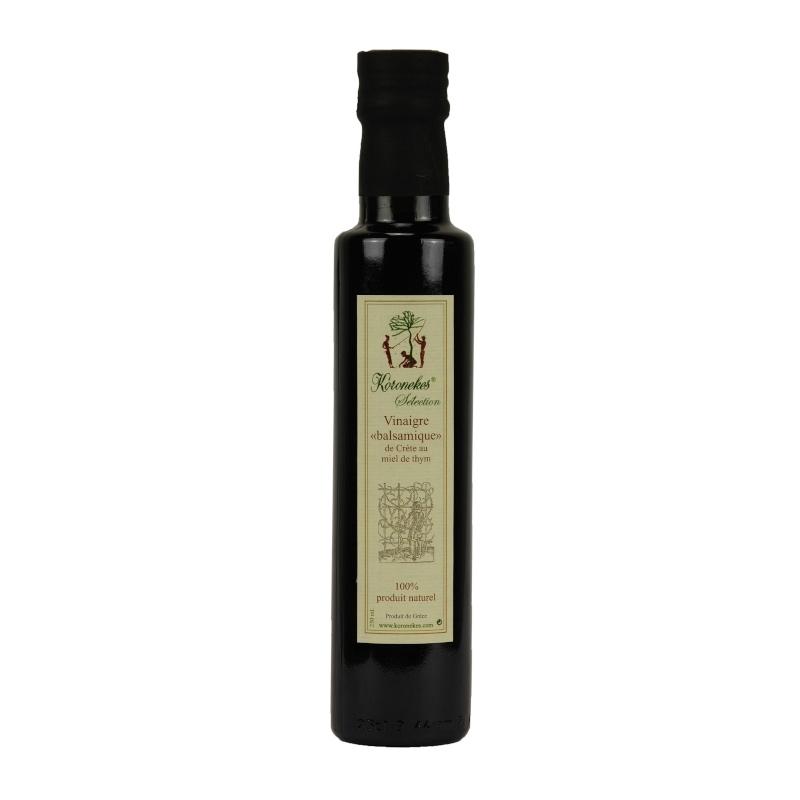 Vinaigre de Crète au Miel de Thym 250ml
