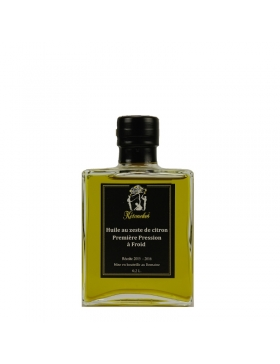Huile d'Olive aux Zestes de Citrons 200ml