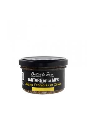 Tartare De La Mer Algues, Échalotes Et Citron 90g