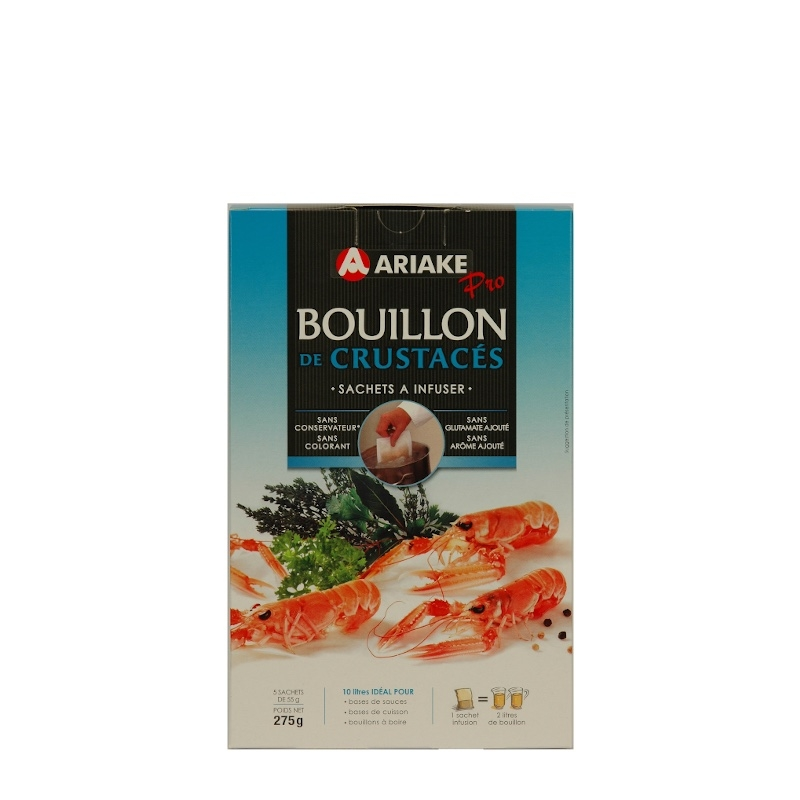 Bouillon De Crustacés À Infuser 250g