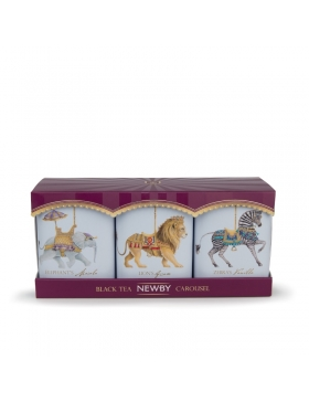 Thé Noir Newby - Collection Carrousel - 3x25g