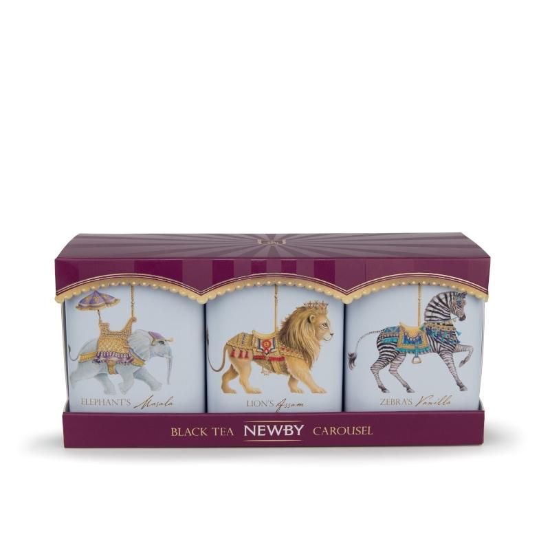 Thé Noir Newby - Collection Carrousel - 3x25g