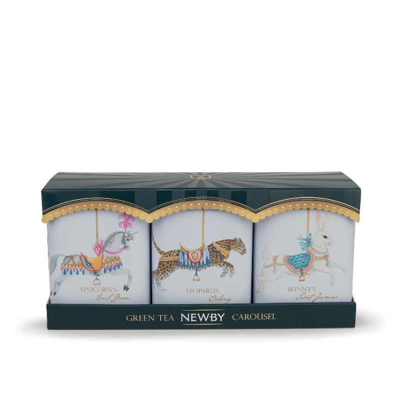 Thé Verts Newby Collection Carrousel 3x25g
