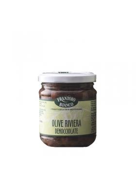 Olives Riviera Dénoyautées 190g