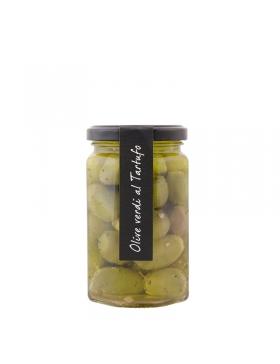 Olives Vertes Aux Truffes 280g Koros.ch