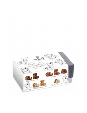 Ballotin Chocolats Et Pralinés Moulés 265g (1) - Koros.ch