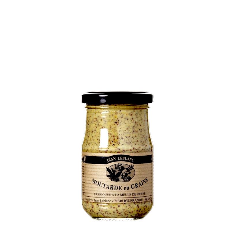 Moutarde En Grains À L'Ancienne 210g - Koros.ch