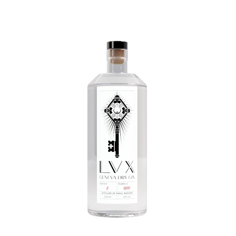 Geneva Dry Gin - LVX - 70cl - Koros.ch