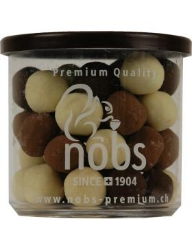 Noisettes au Trois Chocolats 130g
