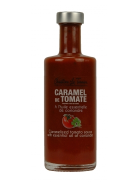Caramel de Tomate à l'Huile Essentielle de Coriandre