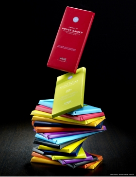 Tablette Weiss Chocolat Noir Mendiant 64%
