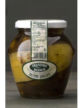 Courgettes grillées à l'huile 280g