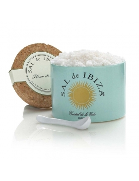 Fleur de Sel de Ibiza - Pot Céramique 150g