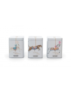 Thés verts Newby - Collection Carrousel 3 x 25g