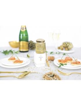 Gelée de Champagne aux paillettes d'or 100g