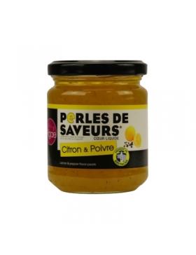Perles culinaires au Citron et Poivre 200g