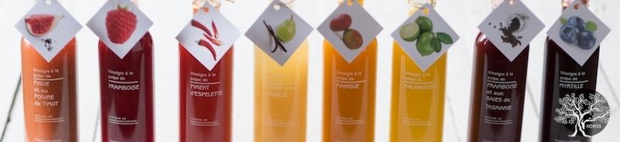 Vinaigres à la pulpe de fruits Libeluile - Koros.ch - Genève